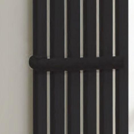 Kartell Aspen Radiator Towel Holder 550mm Black