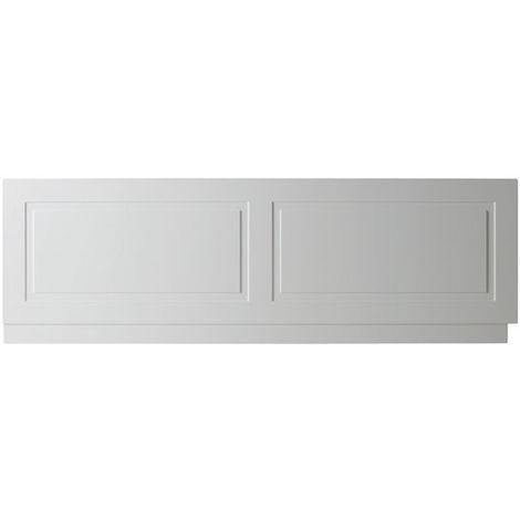 """main image of """"Kartell Astley 1800mm Front Bath Panels - Matt White"""""""
