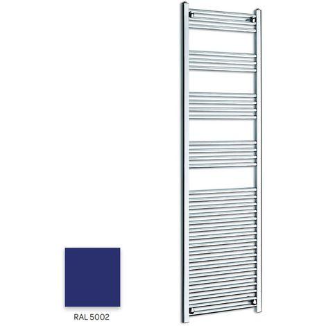 Kartell Blue 1600mm x 400mm Straight 22mm Towel Rail - STR416-RAL5002