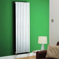 Kartell Boston White Vertical Designer Radiator 1200mm x 480mm