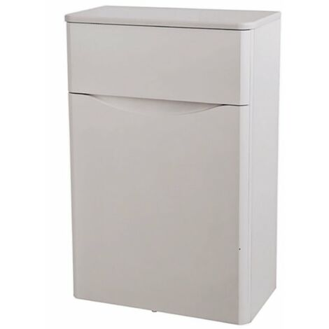 Kartell Cayo WC Unit with Concealed Cistern 500mm - Rolling Mist