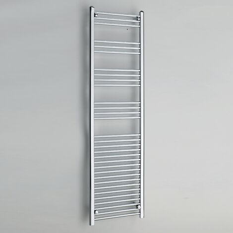 Kartell Chrome 1800mm x 600mm Straight 22mm Towel Rail - STR618C