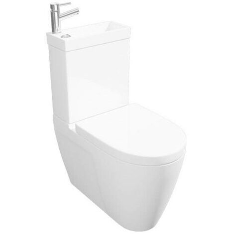Kartell Combi 2-In-1 WC and Basin with Mono Mixer
