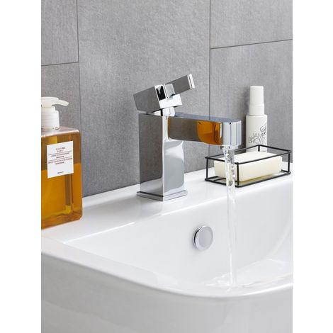 Kartell Eton Brass Mini Mono Basin Mixer