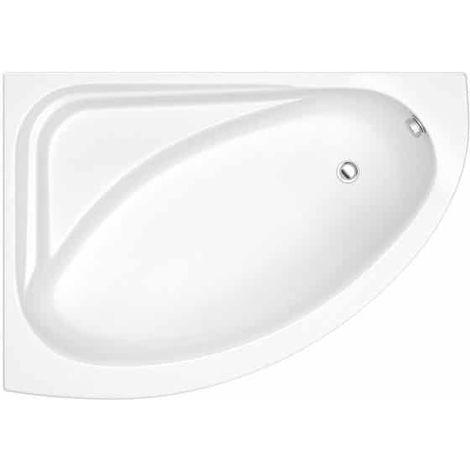 Kartell Formula Offset Corner Bath 1500mm X 1040mm Left Hand