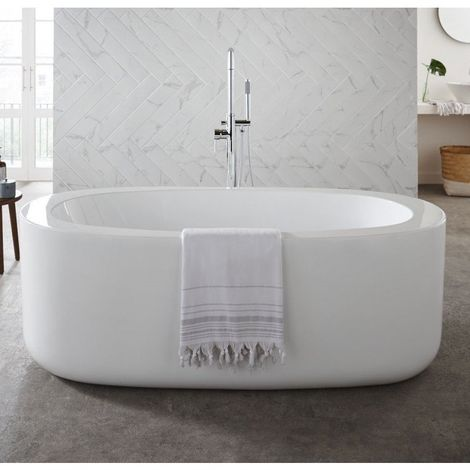Kartell Genoa Freestanding Bath 1700mm x 800mm