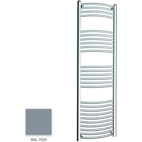 Kartell Grey 1600mm x 300mm Curved 22mm Towel Rail - CTR316-RAL7001