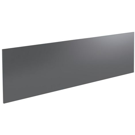 Kartell Ikon Front Bath Panel 1800mm Gloss Grey