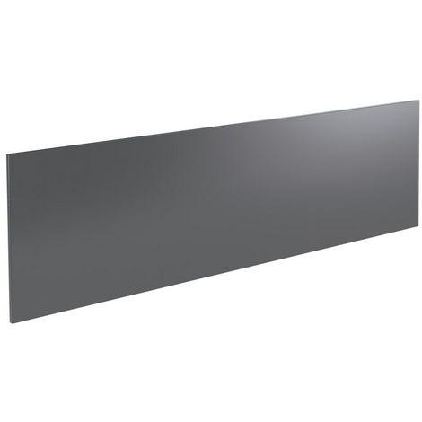 Kartell Ikon Front Bath Panel 800mm Gloss Grey