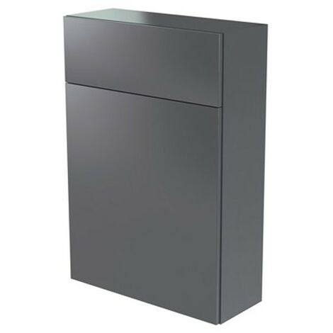 Kartell Ikon WC Unit 500mm Gloss Grey