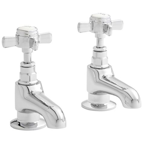 Kartell Klassique Brass Bath Tap Pair