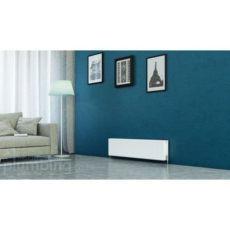 """main image of """"Kartell Kompact Type 22 Double Panel Double Convector Radiator 300mm x 1400mm White"""""""