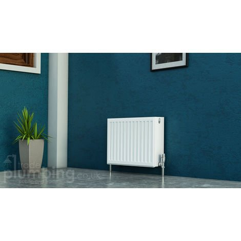 Kartell Kompact Type 22 Double Panel Double Convector Radiator 300mm x 400mm White