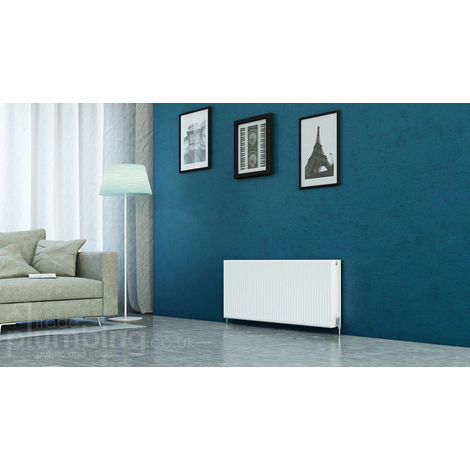 Kartell Kompact Type 22 Double Panel Double Convector Radiator 500mm x 1300mm White