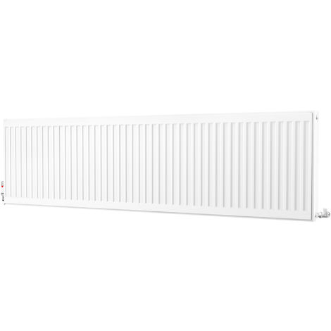Kartell Kompact Type 22 Double Panel Double Convector Radiator 500mm x 1800mm White