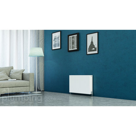 Kartell Kompact Type 22 Double Panel Double Convector Radiator 500mm x 900mm White