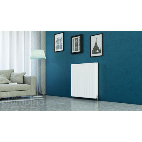 Kartell Kompact Type 22 Double Panel Double Convector Radiator 900mm x 1000mm White