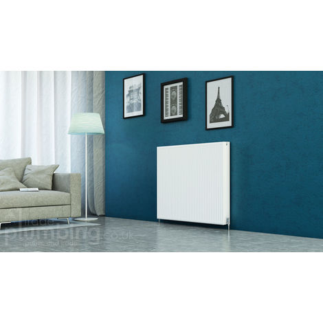 Kartell Kompact Type 22 Double Panel Double Convector Radiator 900mm x 1200mm White