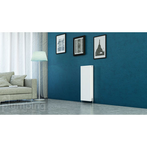 Kartell Kompact Type 22 Double Panel Double Convector Radiator 900mm x 400mm White