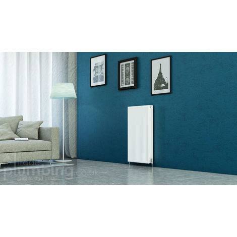 Kartell Kompact Type 22 Double Panel Double Convector Radiator 900mm x 500mm White