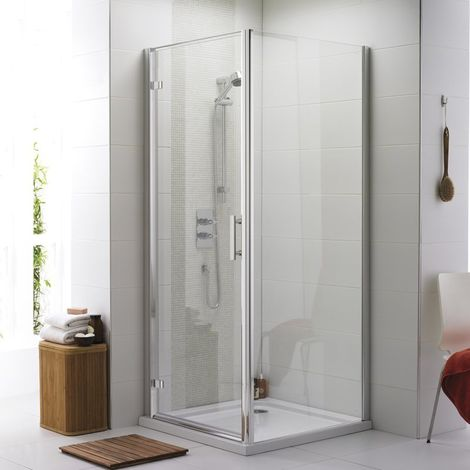 Kartell Koncept Hinged Shower Door 760mm