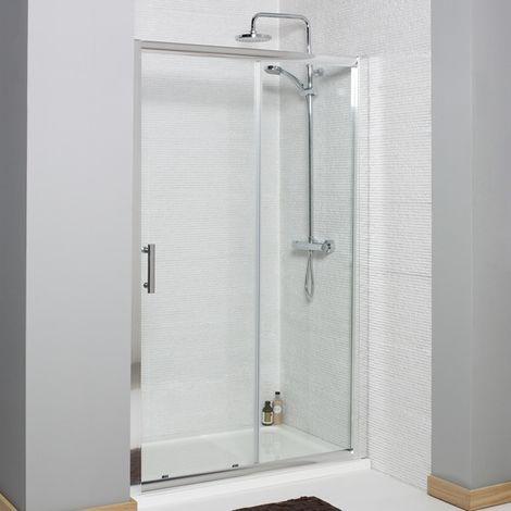 "main image of ""Kartell Koncept Sliding Shower Door 1100mm"""
