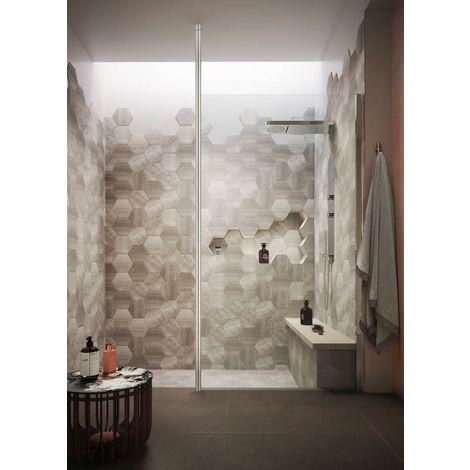Kartell Koncept Wetroom Screen Floor to Ceiling Post - 2000mm High