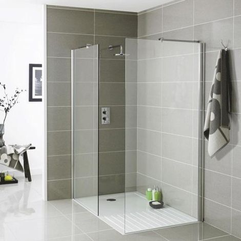 Kartell Koncept Wetroom Shower Tray 1400mm x 900mm - White
