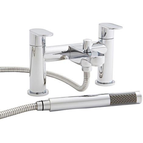 Kartell Logik Brass Bath Shower Mixer