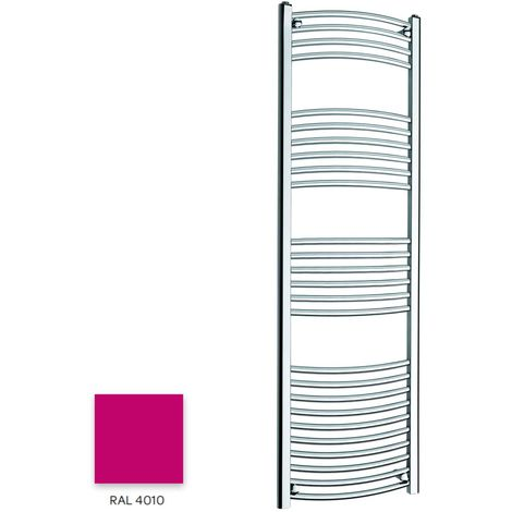 Kartell Magenta 1600mm x 300mm Curved 22mm Towel Rail - CTR316-RAL4010