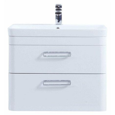 Kartell Metro Wall Hung Drawer Unit and Basin 800mm