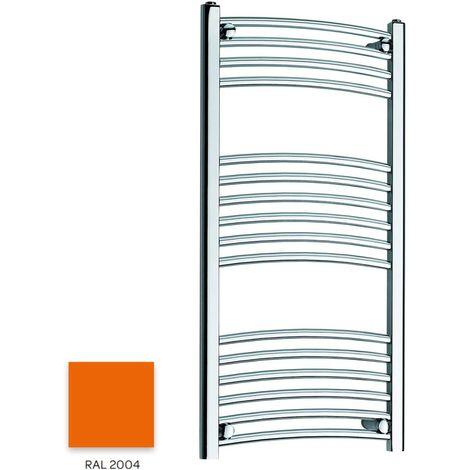 Kartell Orange 1000mm x 300mm Curved 22mm Towel Rail - CTR310-RAL2004