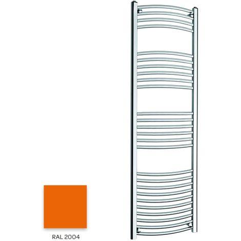 Kartell Orange 1600mm x 300mm Curved 22mm Towel Rail - CTR316-RAL2004