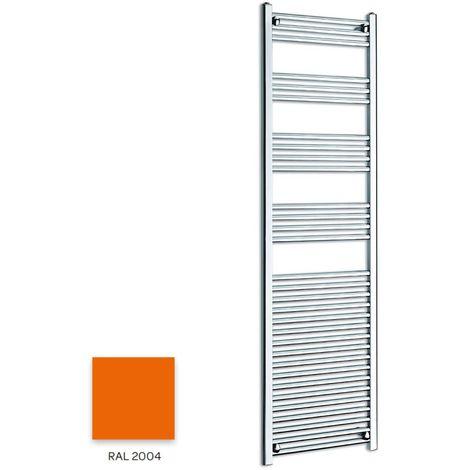 Kartell Orange 1600mm x 300mm Straight 22mm Towel Rail - STR316-RAL2004