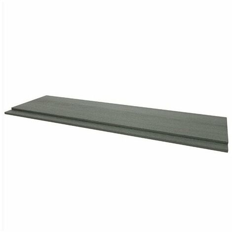 Kartell Purity 1800mm 2-Piece Front Panel - Grey Ash