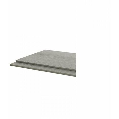 Kartell Purity 800mm 2-Piece End Panel - Grey Ash