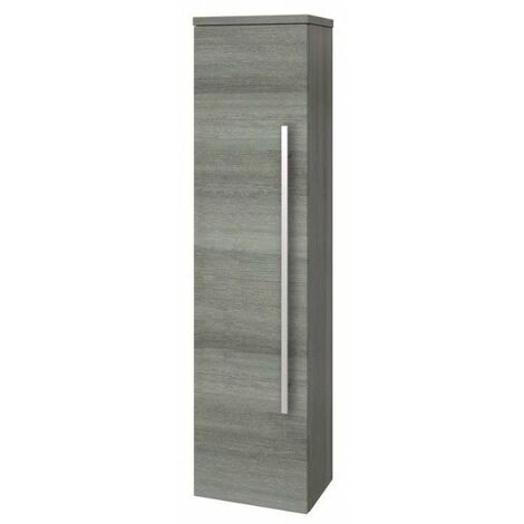 Kartell Purity Wall Mounted Side Unit - Grey Ash