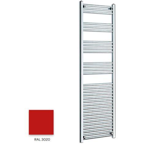 Kartell Red 1600mm x 300mm Straight 22mm Towel Rail - STR316-RAL3020
