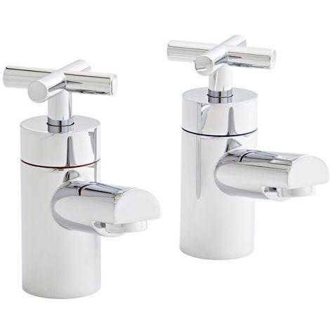 Kartell Times Brass Bath Tap Pair