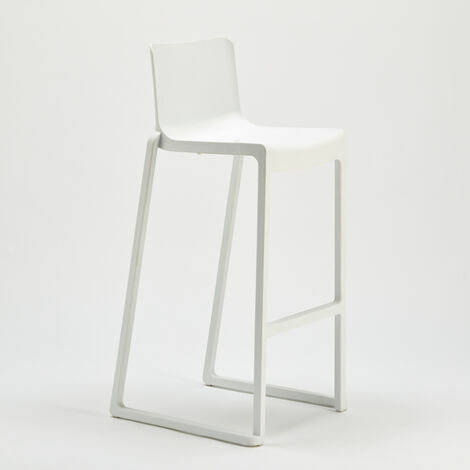 KASAR Fibreglass High Stackable Stool For Kitchens Bars & Clubs Boonen Design