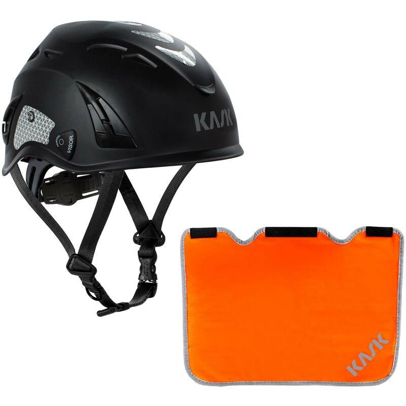 Industriekletterhelm Plasma AQ- Arbeitsschutzhelm Nackenschutz orange mit BG Bau F/örderung Drehrad Farbe:hellgr/ün Bergsteigerhelm KASK Schutzhelm