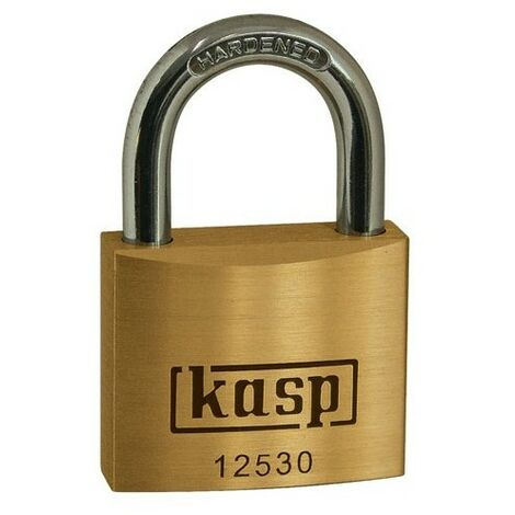Kasp Steel Shackleless Padlock K50073LD 73mm Heavy Duty//High Security