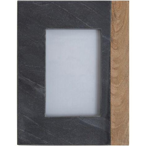Kata Photo Frame (4In X 6In), Slate, Mango Wood