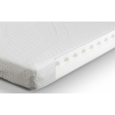 Katharine Nursery Baby Cot Bed Smart Foam Mattress 70 x 140