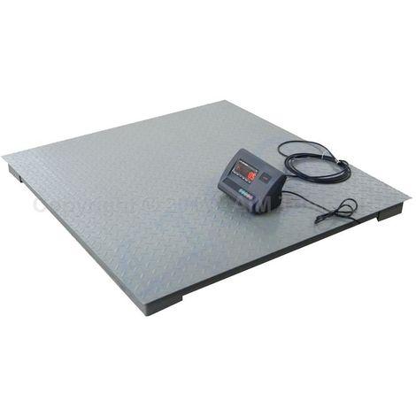 KATSU Heavy Duty 3Ton Electronic Digital Platform Pallet Weighing Scale 1.2X1.2