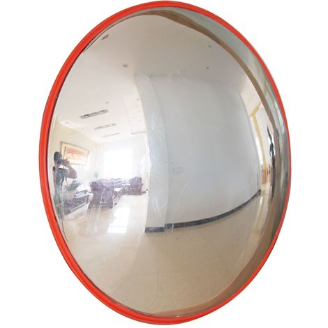 KATSU Indoor Outdoor Mall Traffic Security Convex Road Mirror 180 Deg 60cm