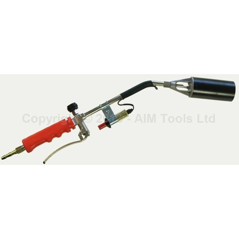 KATSU Tools 324153 Roofing Gas Torch Burner 200mm Hose Regulator Blow Multi- Purpose Tool