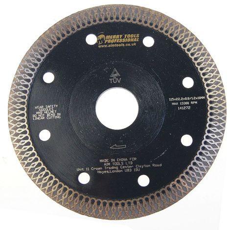 KATSU Wet Dry Diamond Fast Cutting Blade Wheel Marble Granite Ceramic 115mm