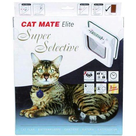 Katzenfreundliches Sektionaltor Super Elite Katzen und Hunde 4 verschiedene Funk Cat-Mate
