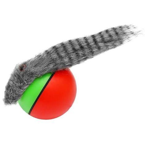 Katzenspielzeug Frettchen Ball mit Schnur Spaß Unterhaltung Tiere Sicher Lustig 5757